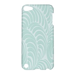 Leaf Blue Apple iPod Touch 5 Hardshell Case
