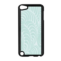 Leaf Blue Apple iPod Touch 5 Case (Black)