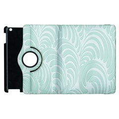 Leaf Blue Apple iPad 2 Flip 360 Case