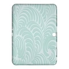 Leaf Blue Samsung Galaxy Tab 4 (10 1 ) Hardshell Case