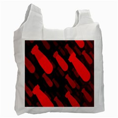 Missile Rockets Red Recycle Bag (One Side)