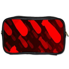 Missile Rockets Red Toiletries Bags