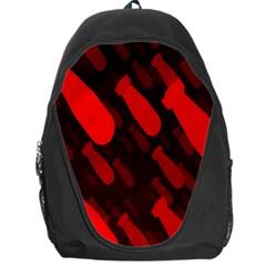 Missile Rockets Red Backpack Bag