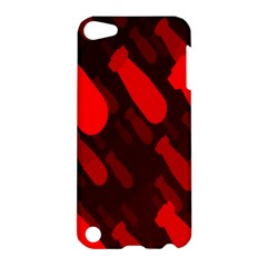 Missile Rockets Red Apple iPod Touch 5 Hardshell Case