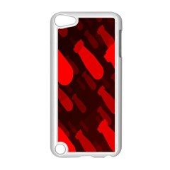 Missile Rockets Red Apple iPod Touch 5 Case (White)