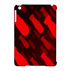Missile Rockets Red Apple iPad Mini Hardshell Case (Compatible with Smart Cover)