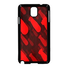 Missile Rockets Red Samsung Galaxy Note 3 Neo Hardshell Case (Black)