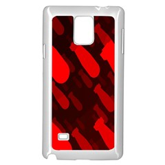 Missile Rockets Red Samsung Galaxy Note 4 Case (White)