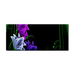Neon Flowers Floral Rose Light Green Purple White Pink Sexy Cosmetic Storage Cases