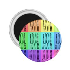 Multiplication Printable Table Color Rainbow 2 25  Magnets