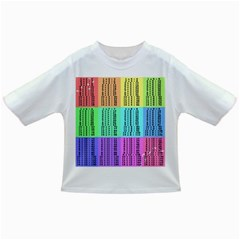 Multiplication Printable Table Color Rainbow Infant/toddler T Shirts
