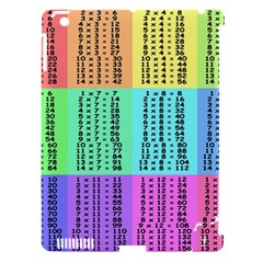 Multiplication Printable Table Color Rainbow Apple iPad 3/4 Hardshell Case (Compatible with Smart Cover)