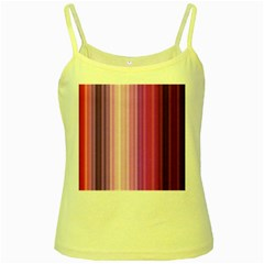 Pink Vertical Color Rainbow Purple Red Pink Line Yellow Spaghetti Tank