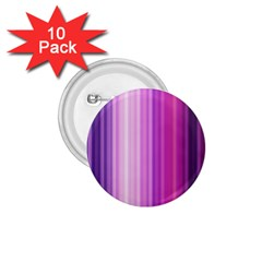 Pink Vertical Color Rainbow Purple Red Pink Line 1.75  Buttons (10 pack)