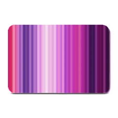 Pink Vertical Color Rainbow Purple Red Pink Line Plate Mats