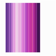 Pink Vertical Color Rainbow Purple Red Pink Line Large Garden Flag (Two Sides)