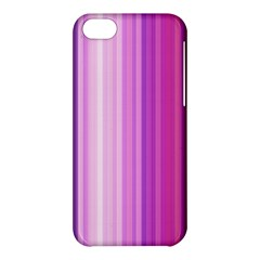 Pink Vertical Color Rainbow Purple Red Pink Line Apple iPhone 5C Hardshell Case