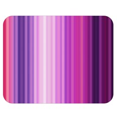 Pink Vertical Color Rainbow Purple Red Pink Line Double Sided Flano Blanket (Medium)