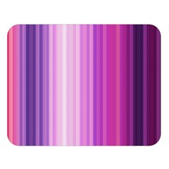 Pink Vertical Color Rainbow Purple Red Pink Line Double Sided Flano Blanket (large)