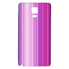 Pink Vertical Color Rainbow Purple Red Pink Line Galaxy Note 4 Back Case