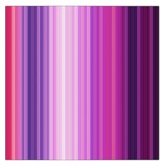Pink Vertical Color Rainbow Purple Red Pink Line Large Satin Scarf (Square)
