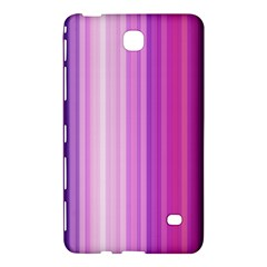 Pink Vertical Color Rainbow Purple Red Pink Line Samsung Galaxy Tab 4 (8 ) Hardshell Case