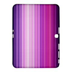 Pink Vertical Color Rainbow Purple Red Pink Line Samsung Galaxy Tab 4 (10.1 ) Hardshell Case