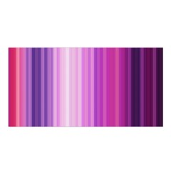 Pink Vertical Color Rainbow Purple Red Pink Line Satin Shawl