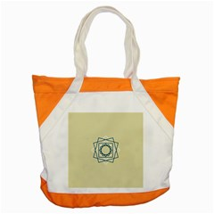 Shape Experimen Geometric Star Plaid Sign Accent Tote Bag