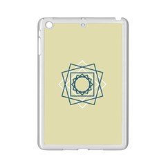 Shape Experimen Geometric Star Plaid Sign Ipad Mini 2 Enamel Coated Cases