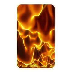 Sea Fire Orange Yellow Gold Wave Waves Memory Card Reader