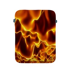 Sea Fire Orange Yellow Gold Wave Waves Apple iPad 2/3/4 Protective Soft Cases
