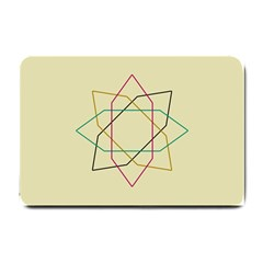 Shape Experimen Geometric Star Sign Small Doormat