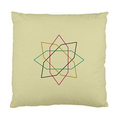 Shape Experimen Geometric Star Sign Standard Cushion Case (One Side)