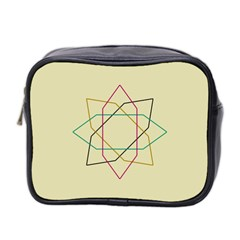 Shape Experimen Geometric Star Sign Mini Toiletries Bag 2-Side