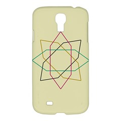Shape Experimen Geometric Star Sign Samsung Galaxy S4 I9500/I9505 Hardshell Case