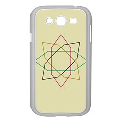 Shape Experimen Geometric Star Sign Samsung Galaxy Grand DUOS I9082 Case (White)