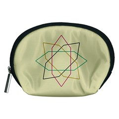 Shape Experimen Geometric Star Sign Accessory Pouches (Medium)