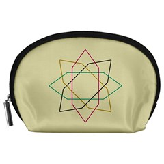 Shape Experimen Geometric Star Sign Accessory Pouches (Large)