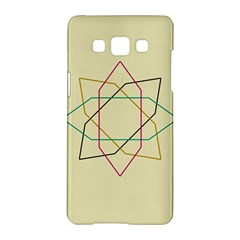 Shape Experimen Geometric Star Sign Samsung Galaxy A5 Hardshell Case
