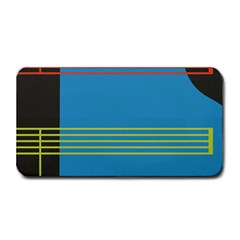 Sketches Tone Red Yellow Blue Black Musical Scale Medium Bar Mats