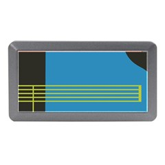 Sketches Tone Red Yellow Blue Black Musical Scale Memory Card Reader (Mini)