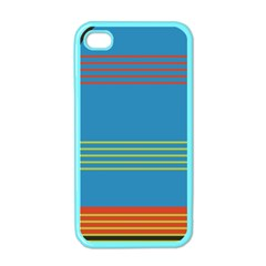 Sketches Tone Red Yellow Blue Black Musical Scale Apple iPhone 4 Case (Color)