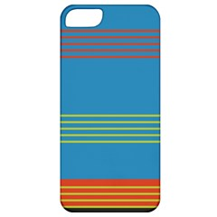 Sketches Tone Red Yellow Blue Black Musical Scale Apple iPhone 5 Classic Hardshell Case