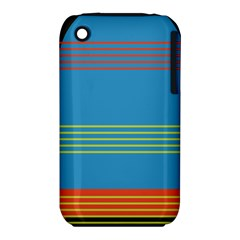 Sketches Tone Red Yellow Blue Black Musical Scale iPhone 3S/3GS
