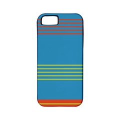 Sketches Tone Red Yellow Blue Black Musical Scale Apple iPhone 5 Classic Hardshell Case (PC+Silicone)