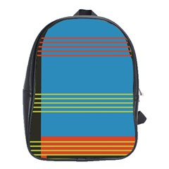Sketches Tone Red Yellow Blue Black Musical Scale School Bags (xl)