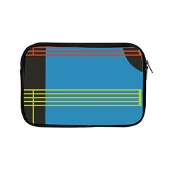 Sketches Tone Red Yellow Blue Black Musical Scale Apple iPad Mini Zipper Cases