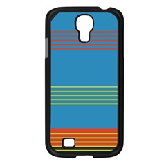 Sketches Tone Red Yellow Blue Black Musical Scale Samsung Galaxy S4 I9500/ I9505 Case (Black)
