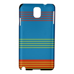 Sketches Tone Red Yellow Blue Black Musical Scale Samsung Galaxy Note 3 N9005 Hardshell Case